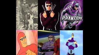 The Phantom - Evolution in films & TV