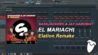 Bassjackers & Jay Hardway - El Mariachi (Original Mix) (FL Studio Remake + FLP)