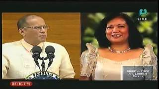 Aquino lauds Cabinet, slams past administration's officials