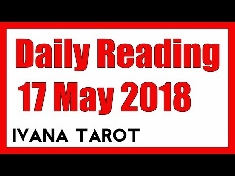 💖  Follow Your Hunch - Daily Tarot Reading 17 May 2018