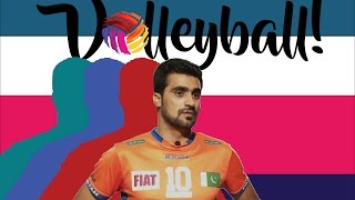 Pakistan's First Volleyball League | Naseer Ahmed (Pakistan National Volleyball Team Captain)