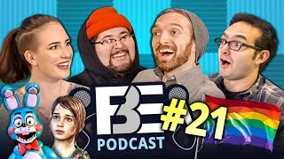 FBE PODCAST | Coming Out, College Kids React, & FNAF (Ep #21)