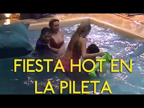 Marian Farjat Fiesta Hot en la Pileta Pato Dante y Yasmila #GH2016 Gran Hermano 2016