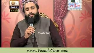Khalid Hasnain Khalid At Qtv Program Naat Zindagi Hai 30-05-2014 With Sarwar Naqshbandi.By Visaal