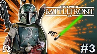 WELCOME TO THE DARK SIDE! (HEROES VS VILLAINS) | Star Wars Battlefront 2 #3 Multiplayer Ft. Cartoonz