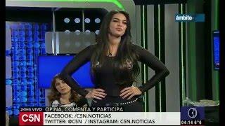 Sabrina Ravelli Terrible en Calzas HOT