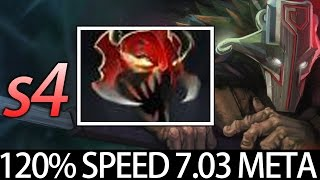 7.03 Madness Buff Juggernaut Carry with MoM by S4 Dota
