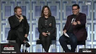 The Last Jedi panel - Star Wars Celebration Orlando 2017