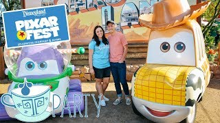 PIXAR FEST AT DISNEYLAND 2018   TREATS, MERCHANDISE, SHOWS AND MORE!   TPARTY