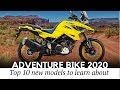 Top 10 Upcoming Motorcycles Joining The Adventure Class In 2020