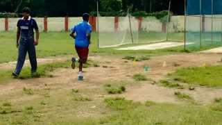 Bengal Ranji Bowler's Net Practice.