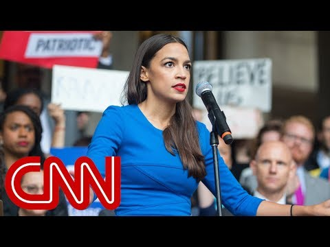 Ocasio Cortez fires back at ex Democrat New party who dis