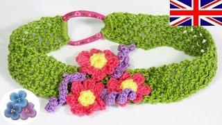 Download Headband Tutorial 20 minutes - How to make a Headband - Crochet Headband Mathie 3Gp Mp4