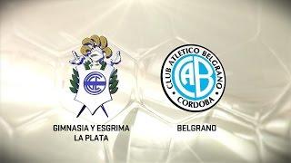 Fútbol en vivo. Gimnasia LP vs. Belgrano. Fecha 13. Torneo de Primera División 2016/2017. FPT
