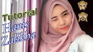 Tutorial shawl Hanis Zalikha