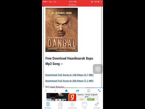 How to download songs in the iPhone 6