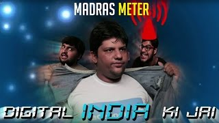 Digital India Ki Jai | Facebook Chronicles | Short Film |Comedy | Madras Meter