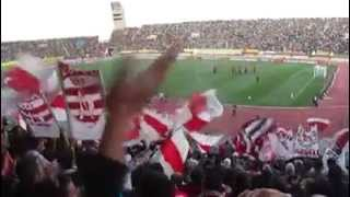 Club Africain - La Curva Nord Tunis à Fes (Maroc)