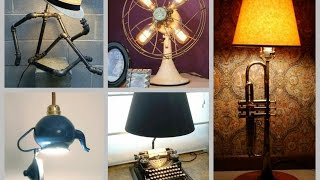 35+ Recycled Lamp Ideas - Trash to Treasure DIY Projects