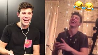 Shawn Mendes laughing compilation!