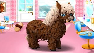 Animal Hair Salon Fun Pet Care Game - Learn to Make Funny Hairstyle