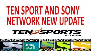 Ten sport & Sony Network Working in New Box at Asiasat 7