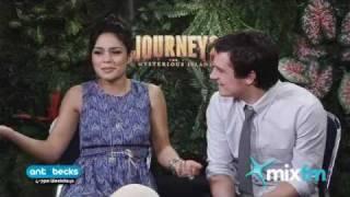 Journey 2 The Mysterious Island, Vanessa Hudgens & Josh Hutcherson | Ant & Becks