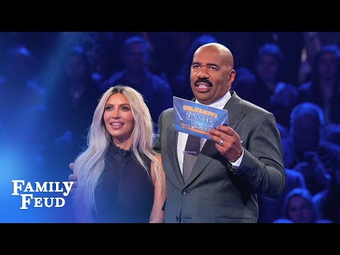 Kim & Kanye s INCREDIBLE Fast Money Celebrity Family Feud