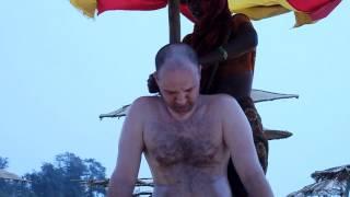 Индийский массаж головы - Indian head massage