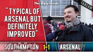 Typical of Arsenal but definitely improved | Southampton 1-1 Arsenal | The Ugly Inside