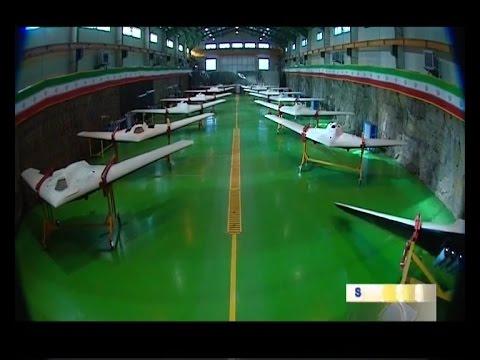 Iran Jet engine UCAV Stealth Bomber