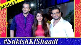 Karan Patel & Ankita Bhargava Stylish Look | Suyyash & Kishwer SANGEET Ceremony | #SuKishKiShaadi