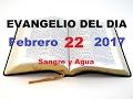 Download Lagu Evangelio Del Dia- Miercoles 22 De Febrero 2017- Sangre Y Agua