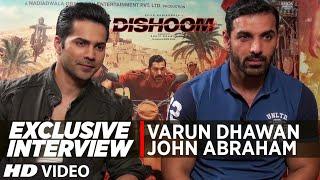 DISHOOM   Exclusive Interview   John Abraham, Varun Dhawan   T-Series