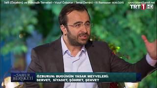 Selfie (Özçekim) ve Psikolojik Temelleri - Yusuf Özkan Özburun / Senai Demirci - 15 Ramazan 1436