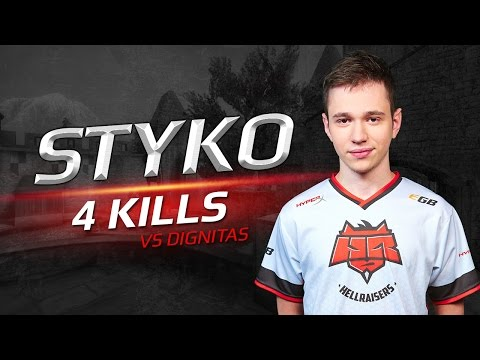 Highlight: STYKO vs Dignitas at ESL Pro League Season 4