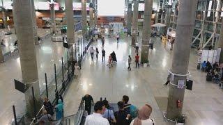 Tehran IKA Airport Arrival Hall (Sep 2016)