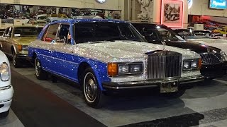 1983 Rolls-Royce in Swarovski Crystals @ The Klairmont Kollections - My Car Story with Lou Costabile