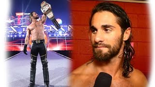 Seth Rollins discusses winning the WWE World Heavyweight Championship: March 29, 2015