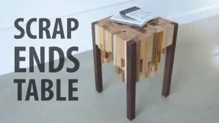 Scrap Ends Table ( не большой столик из дерева