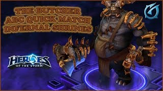 Grubby | Heroes of the Storm | The Butcher - ABC Quick Match - Infernal Shrines