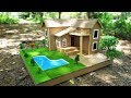 Download Video Download Building A Beautiful Mansion House From Cardboard ( Dream House ) - Project for School 3GP MP4 FLV