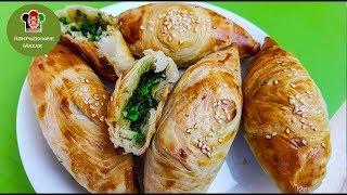 Spinach Samosa/Sambosa Ramadan   سمبوسه پالکی