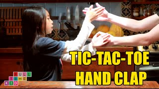 Tic-tac-toe Hand Clap | Full-Time Kid | PBS Parents
