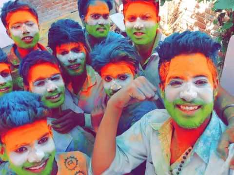 nimkathana/rajasthan grand holi /  biggest colorful  festival in india / awesome celebration