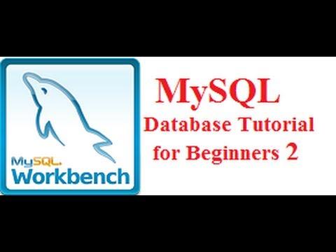 Beginners MYSQL Database Tutorial 2 #  CREATE NEW DATABASE SCHEMA and  TABLE