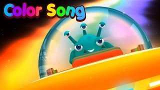 Tiny Color Song | Learn Colors | Nursery Rhymes For Children | Kids Songs