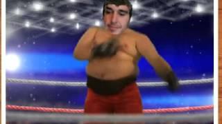 Mangel boxeando