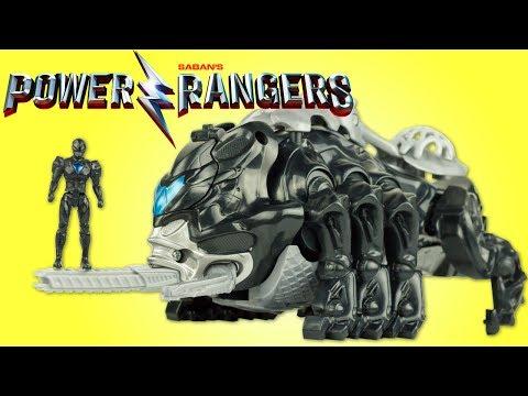 Power Rangers Zord Légendaire Mastodonte Ranger Noir Jouet Dinosaure Toy Juguetes Review