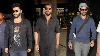 Spotted: Arjun Kapoor, Ajay Devgn and Farhan Akhtar in their Airport Look | SpotboyE